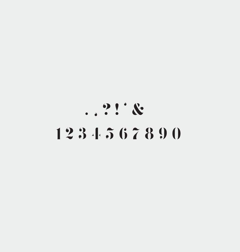шрифт Zefani Stencil