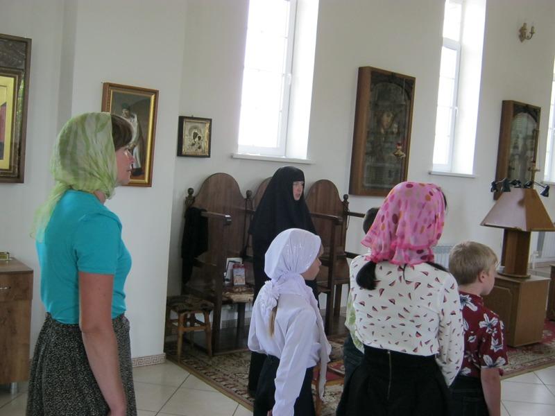 """Дети из """"Волжанки"""" посетили монастырь 4"""