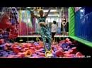 NINJA- ЗОНА в батутном парке sky jump