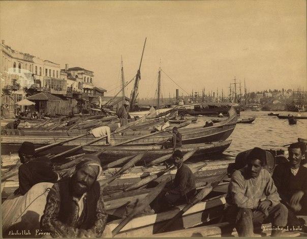 Стамбул и его жители XIX века.