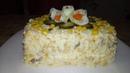 Лучший крабовый салат Неженка