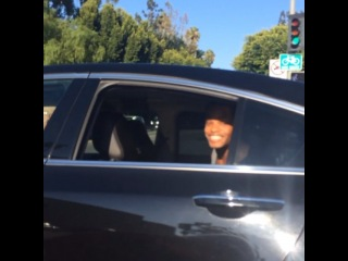 theworldshero: @kingbach in that uber life 😂😂 randomly saw this guy crazy