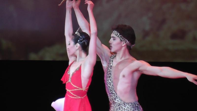 Па де де Диана и Актеон из балет Эсмеральда В честь юбилея Рудольфа Нуреева