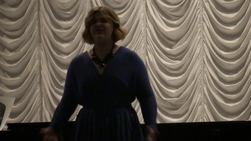 Катя Байкова. Молчанов. Романс Женьки из оперы .