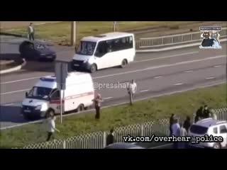 В Набережных Челнах водитель наехал на пешехода и навалял пострадавшему