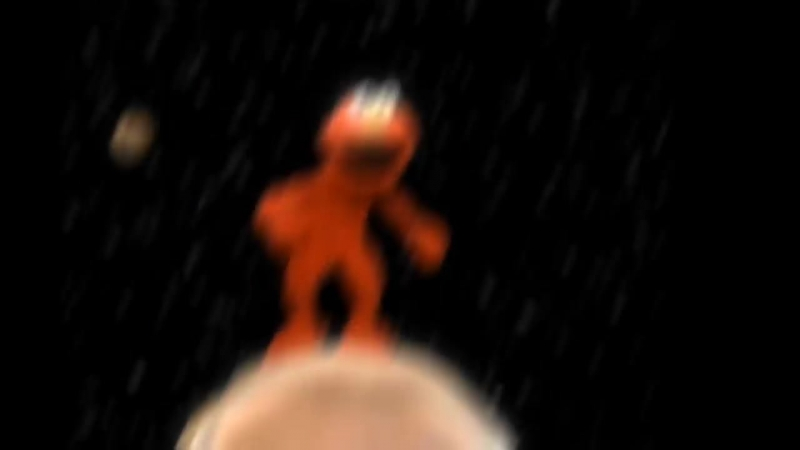 Elmo spotted on Moon
