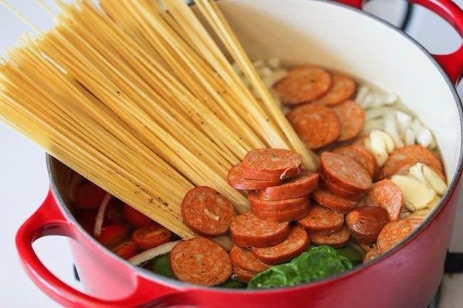 СУПЕР ПАСТА Ингредиенты : 6 порций (Общее время 20