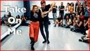 A-Ha Take On Me (MTV Unplugged)   Brazilian Zouk Dance   Jakub Jakoubek Lucia Kubasova   NYC Zouk