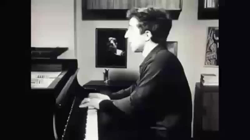 Legendary pianists Daniel Barenboim and Vladimir Ashkenazy play Mozart Concerto for two pianos
