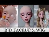BJD FACEUP &amp wig - Lillycat Cerisedolls Amy (Marron Glac
