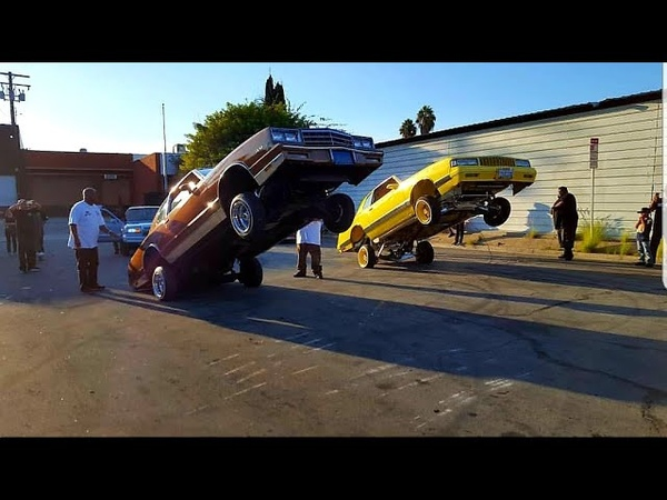 Los Angeles Lowrider Hopping Contest