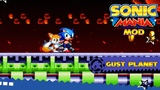 Sonic Mania Gust Planet Zone over LRZ (Sonic mania mod)