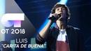 CARITA DE BUENA - Luis | Gala 0 | OT 2018