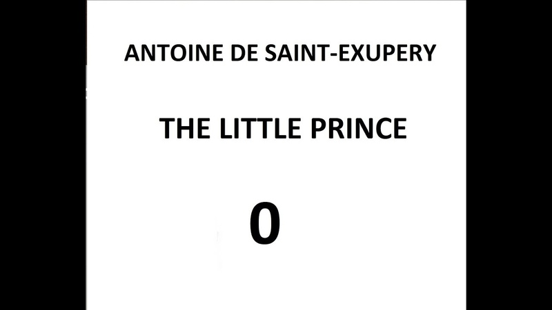 The Little Prince Chapter 1 Paragraph 1,2