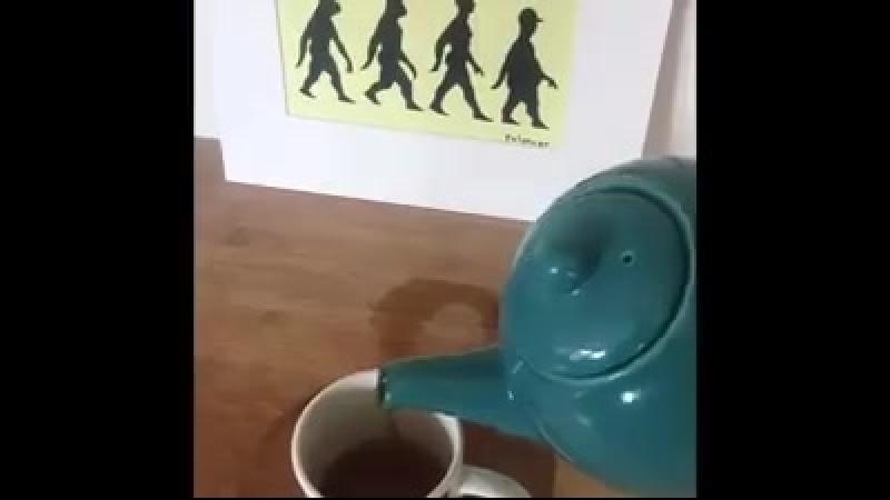 Tuesday Tip Clip 3 Pour some tea into a mug