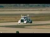 Мега грузовик с турбиной от самолета