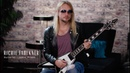 Richie Faulkner of Judas Priest and his Signature Flying V