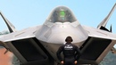 How to Clean this US $400 Million Stealth Jet ? F-22 Raptor in Action