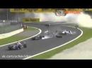 Подборка аварий в автоспорте. Формула 1. Часть 2