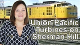 See Mighty Union Pacific Turbines Battle Up Sherman Hill!