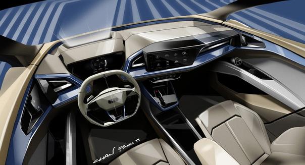 Подробнее : Кроссовер Audi Q4 e-tron засветили перед дебютом Фото: компания AudiСвоими планами использования модульной электромобильной платформы MEB уже давно поделились Volswagen и Soda,