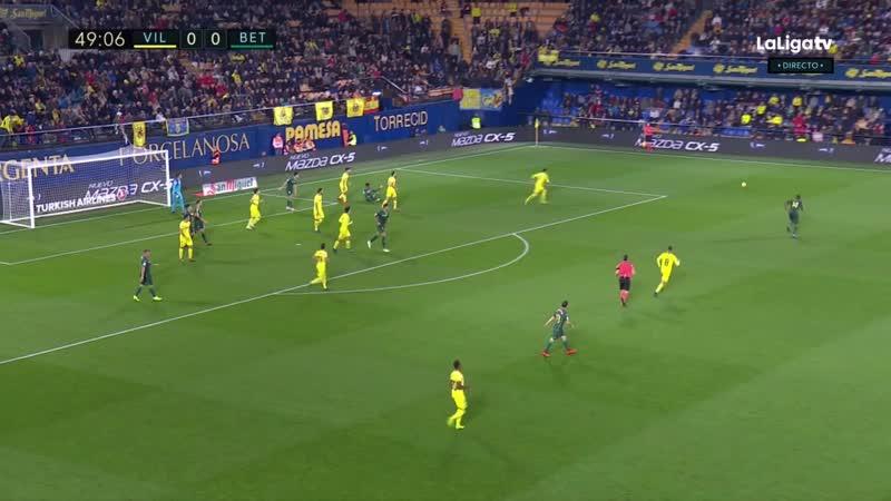 Villarreal CF - Real Betis [Liga 201819 J13]