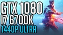Battlefield V Beta GTX 1080 i7 6700K @ 4 6GHz 1440p Benchmark Ultra Settings