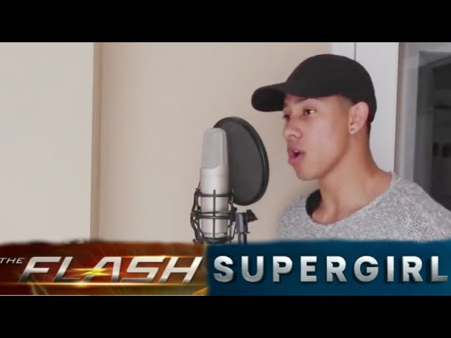 The Flash and Supergirl All Casts Singing ★ Barry, Wally, Kara, Winn, Cisco and Joe