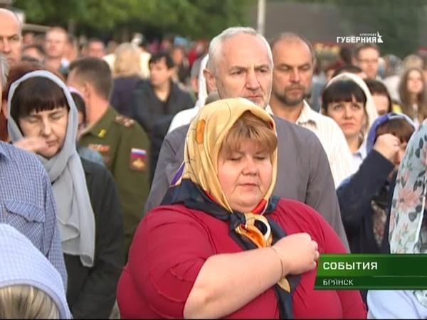 Акция Зажги свечу прошла на площади Воинской славы 22 06 18