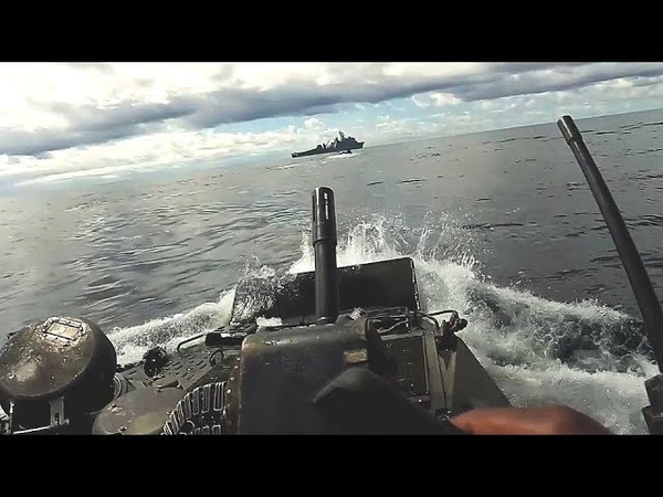 TAKE A RIDE on an AAv-P7/A1 AMPHIBIOUS ASSAULT VEHICLE! Ship to shore and back again!