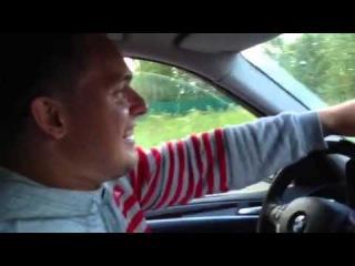 Дмитрий Клоков и Дмитрий Лапиков на BMW X5 подаренном президентом РФ