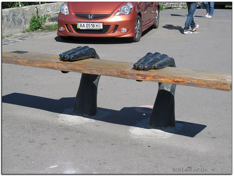 Киев 2014 Пейзажная аллея Kiev Fashion Park