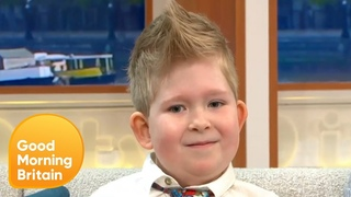 Six-Year-Old Defies Odds After Born With Less Than 2% of His Brain   Good Morning Britain