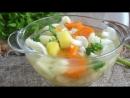 Овощной суп классический