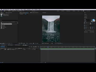 Dropping Ink Image Reveal After Effects 2019
