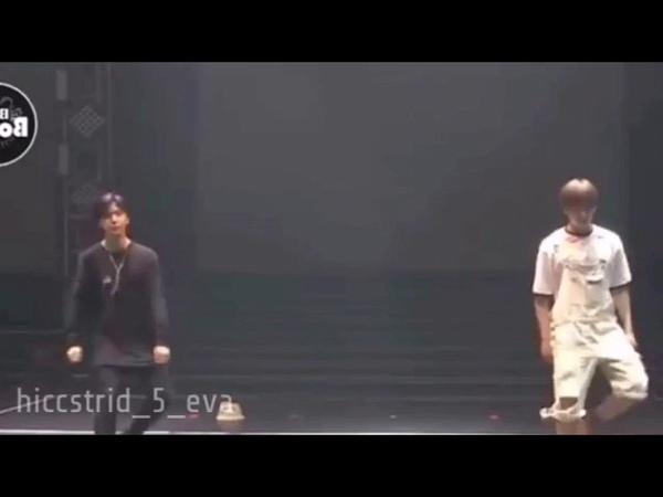 Jimin and Jungkook dance to Deepthroat by Cupcakke