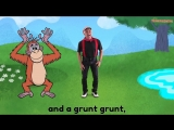 There was a Crocodile Song - Action Songs for Kids - Brain Breaks - Camp Songs -