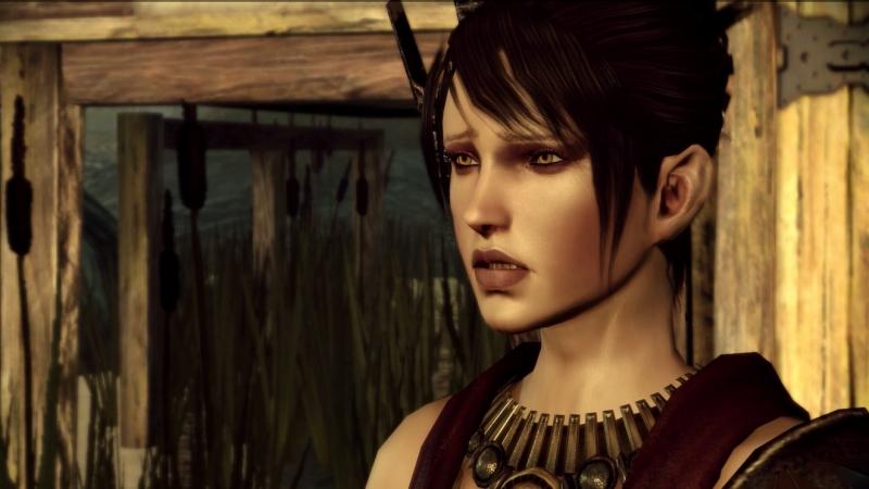 Dragon Age Origins Морриган присоединяется к отряду