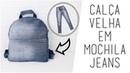 DIY Mochila Escolar Jeans Usando Calça Velha   Larissa Vale