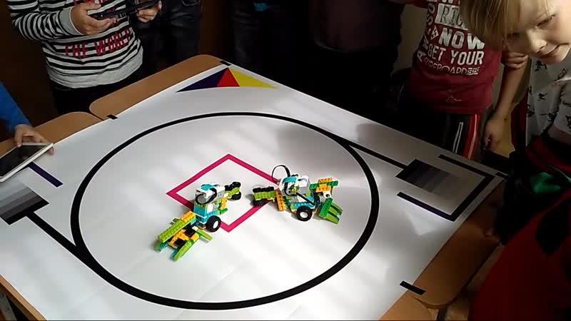 Битва Роботов 2019 Робототехника WeDo 2.0 (ДРЦ Умники и Умницы)