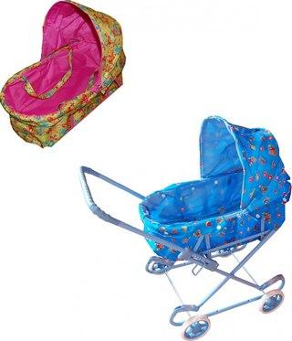 коляска для куклы 60 см