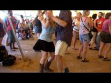 Zydeco dancing to Preston Frank Grassroots 2010
