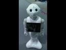 На выставке спросил я у милого робота Где моя компания ЦРТ и вот что она мне отвечала