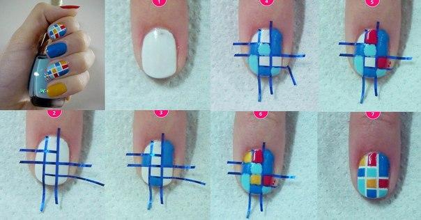 нежный маникюр на короткие ногти пошагово FrauI