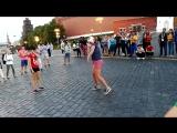 Красная площадь Football freestyle