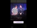Александр Панайотов и Павел Воля на съёмках  передачи «Импровизация» на ТНТ