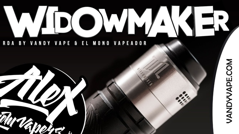 WIDOWMAKER RDA l by Vandy Vape El Mono Vapeador l Alex VapersMD review 🚭🔞