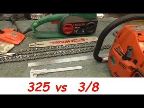 Как выбирать шаг цепи 325 или 38 \ How to choose chain pitch