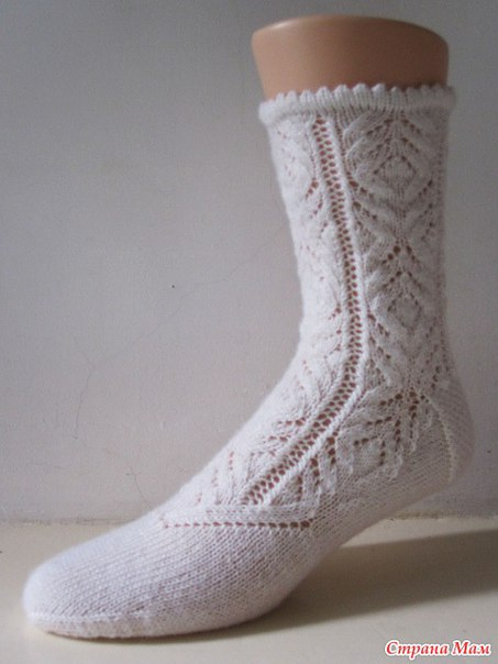 Носочки. Схемы (4 фото)