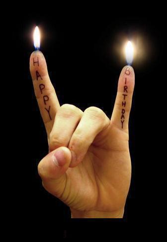 Рокеру поздравление с днем рождения
